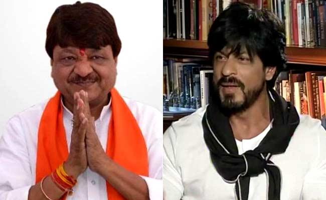 SRK fans hit back at Kailash Vijaybargiya, Trending #kailashvijayvargiyaleaveindia