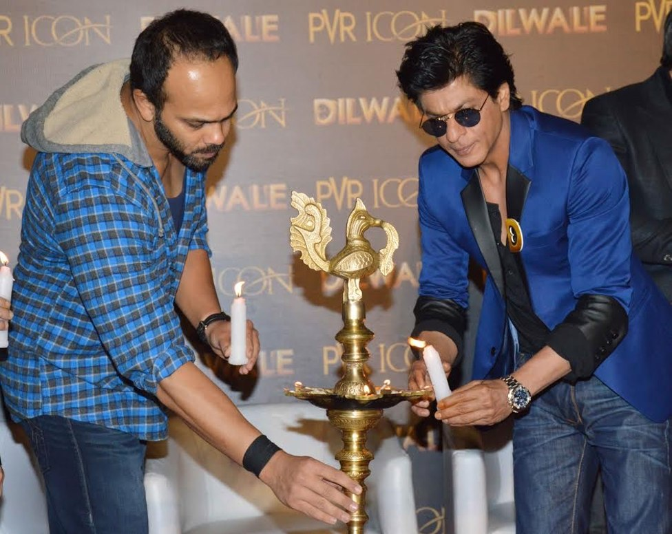 SRK and Rohit Shetty