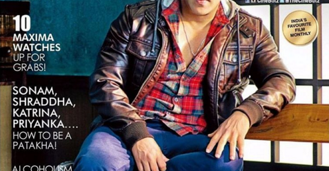 Salman Khan looks so good on the cover of Cine Blitz!