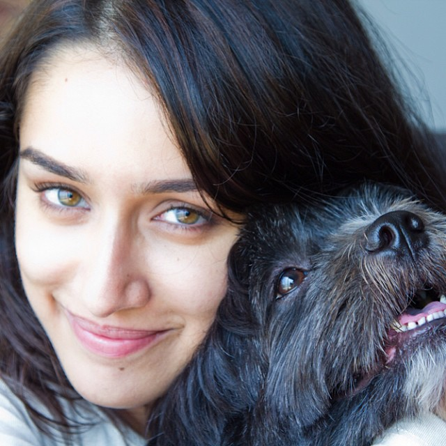 Shraddha Kapoor With Lovey Shyloh