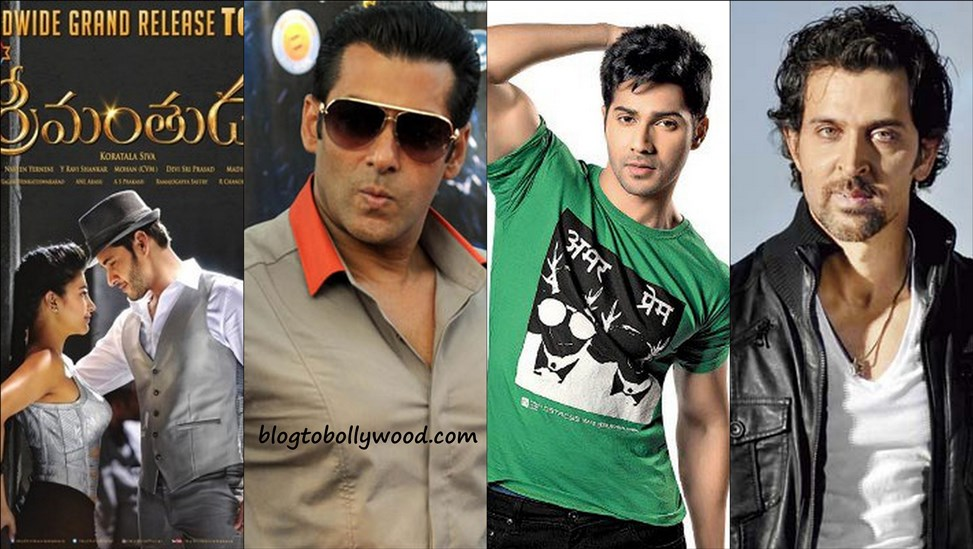 Hrithik Roshan, Salman Khan and Varun Dhawan in Race for Mahesh Babu's 'Srimanthudu' Remake