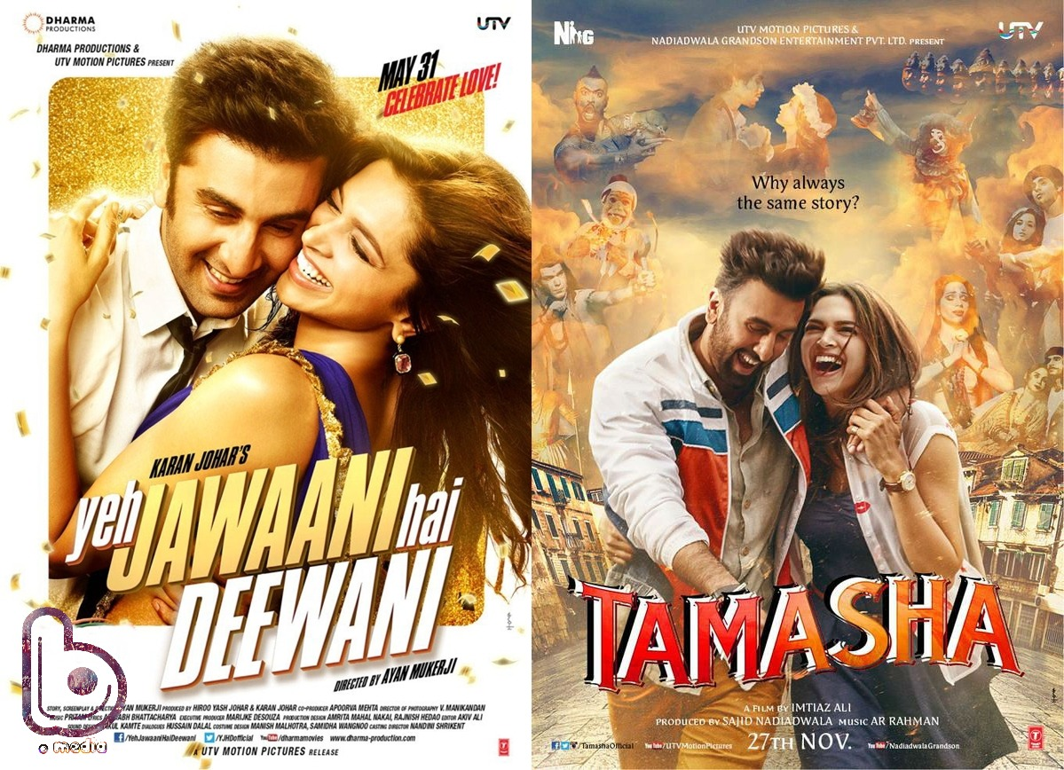 Will Deepika Padukone & Ranbir Kapoor recreate the magic of YJHD with Tamasha? - Poster