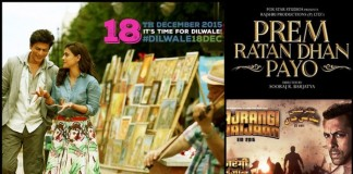 Bajrangi Bhaijaan, Dilwale are the Top Grossing Bollywood Movies of 2015 in Overseas