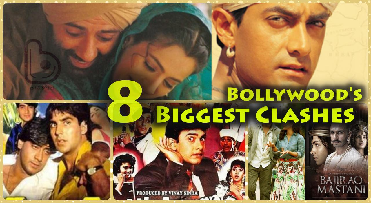 8 Biggest Bollywood Clashes at Box Office All Time |  Clash of the Titans