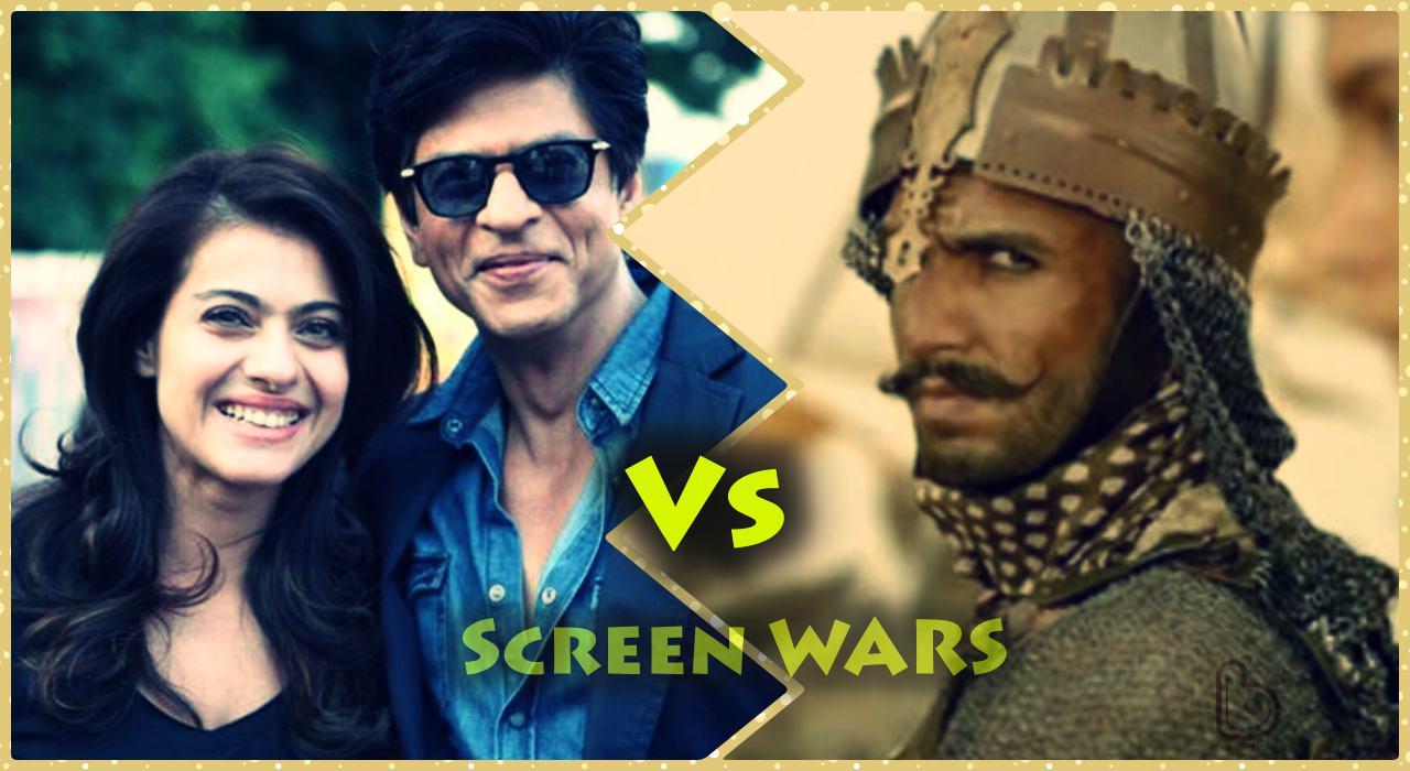 Dilwale Vs Bajirao Mastani Screen War: Bajirao grabs 90% Single screens, Dilwale responds well