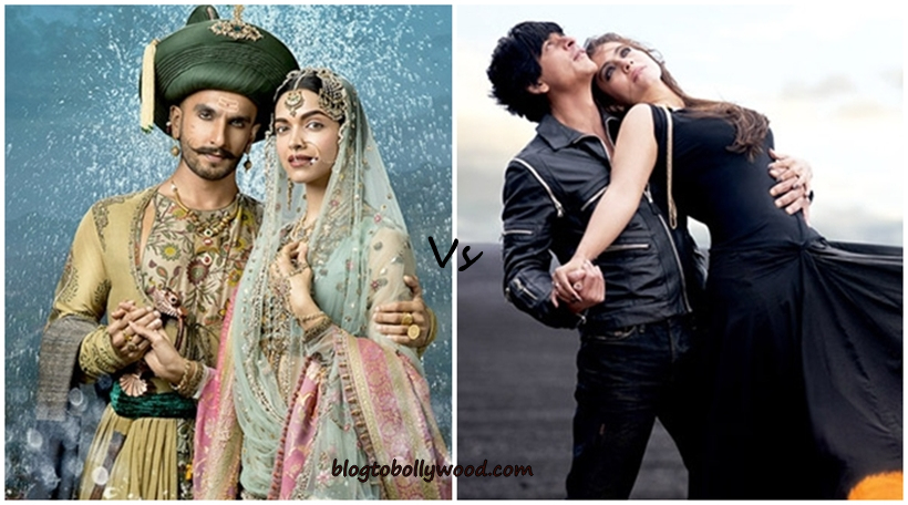 Dilwale 2nd Wednesday Collections minimal as Bajirao Mastani rules box office on 13th day