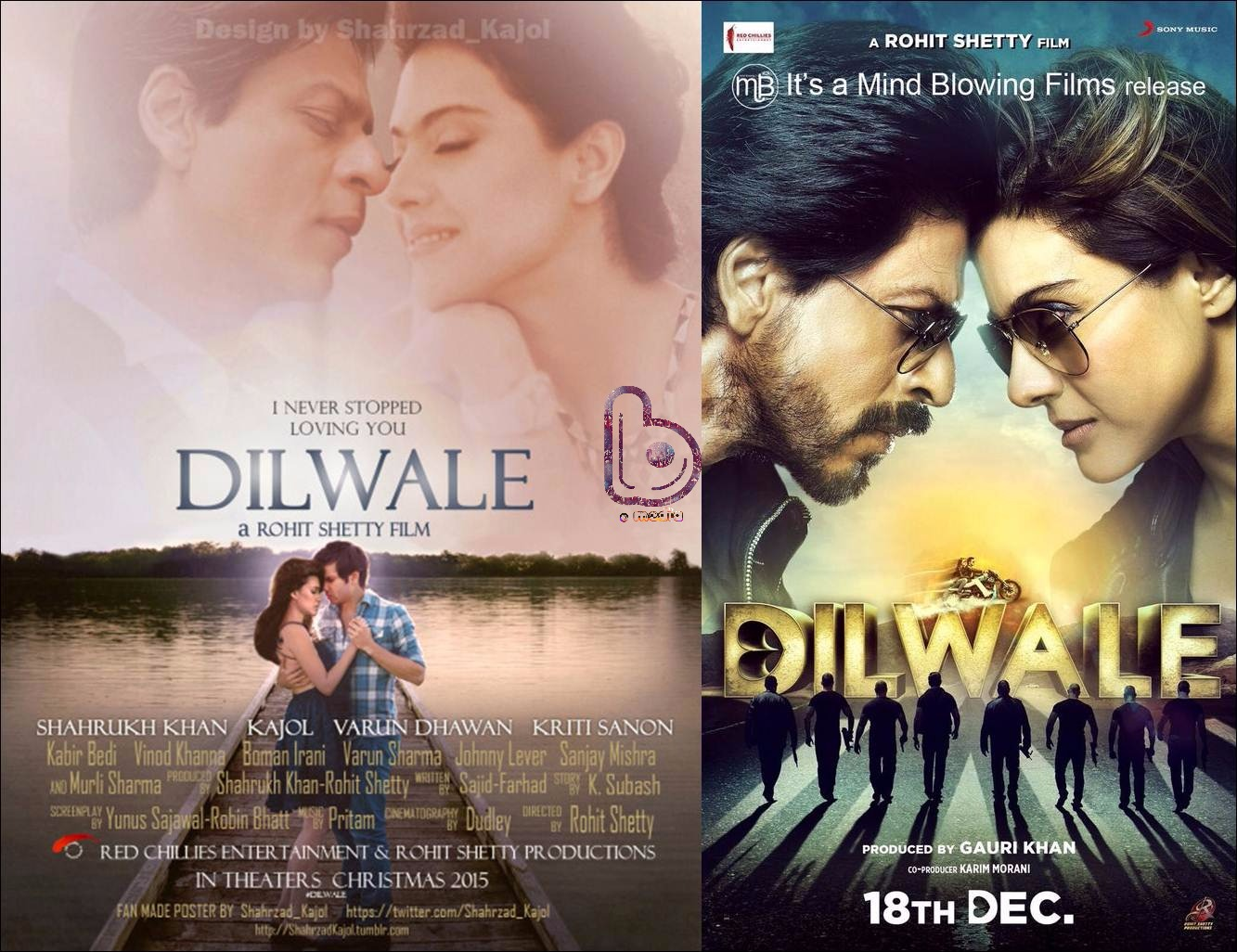 Dilwale Sneak Preview of the Love Story assures every 'Masala' is present