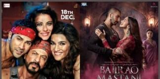 First Weekend Box Office Report | Shahrukh Khan's Dilwale Vs Ranveer Singh's Bajirao Mastani