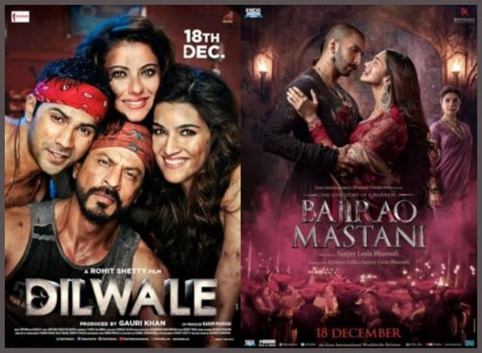 First Weekend Box Office Report: Shahrukh Khan's Dilwale Vs Ranveer Singh's Bajirao Mastani