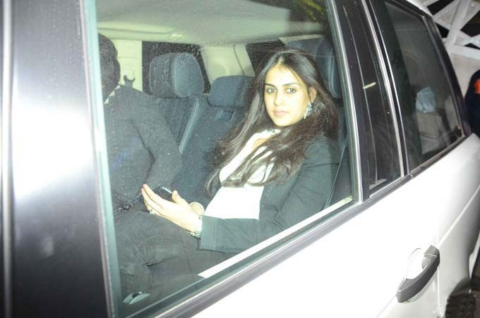 Genelia Deshmukh spotted with a baby bump | Is she pregnant again?