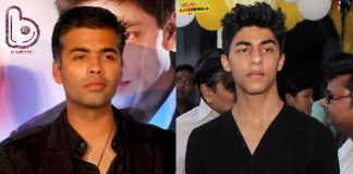 Karan Johar will be the one who gets to launch SRK's son Aryan Khan in B-Town!