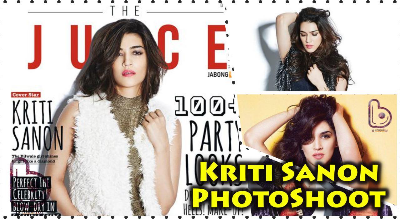 Kriti Sanon looks hot in The Juice Magazine Photoshoot   December 2015 Edition