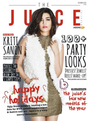 Kriti Sanon looks hot in The Juice Magazine Photoshoot | December 2015 Edition