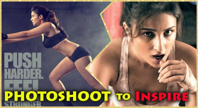 Parineeti Chopra - Built That Way PhotoShoot Inspires to Prespire