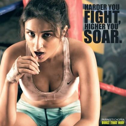Parineeti Chopra - Built That Way PhotoShoot Inspires to Prespire Fight