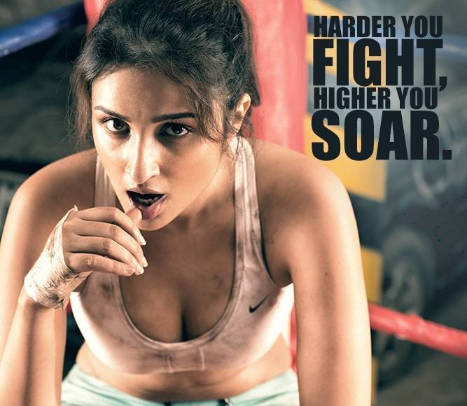 Parineeti Chopra - Built That Way PhotoShoot Inspires to Prespire Fight