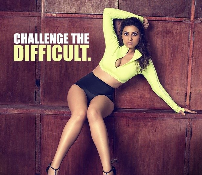Parineeti Chopra - Built That Way PhotoShoot Inspires to Prespire Challenge the difficult