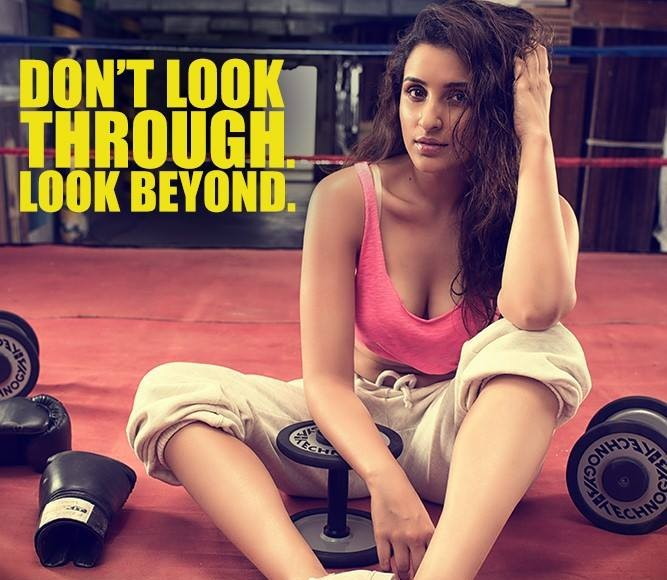 Parineeti Chopra - Built That Way PhotoShoot Inspires to Prespire Look Beyond