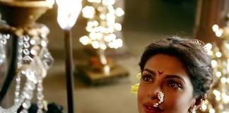 Priyanka Chopra as Kashibai in Bajirao Mastani