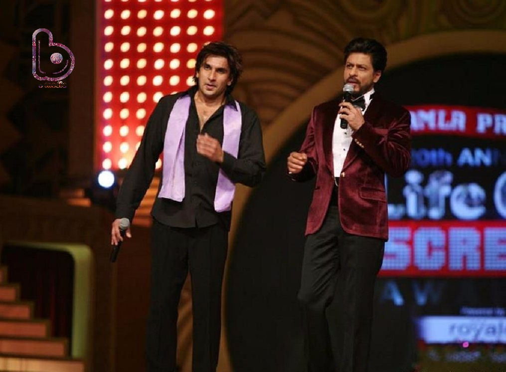 When Shah Rukh Khan said 'Ab Hamara Kya Hoga' to Ranveer Singh!