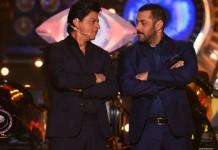 Here's what Shah Rukh Khan and Salman Khan did last night on Bigg Boss 9