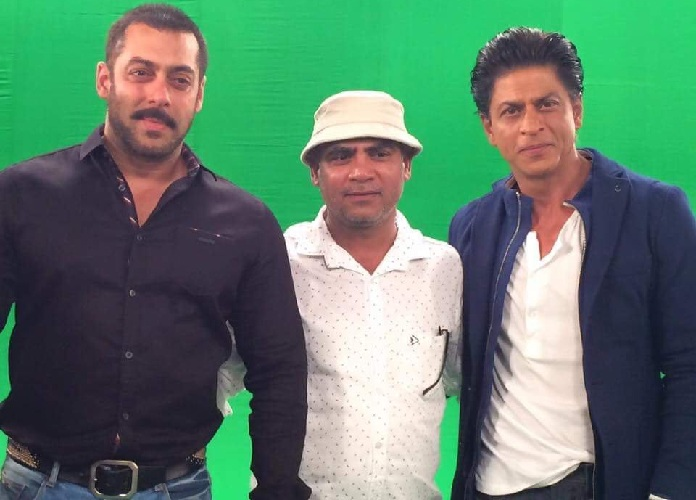 Shahrukh Khan and Salman Khan Shoot For Bigg Boss 9 - 2
