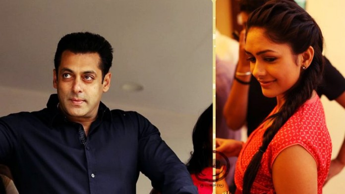 Is Mrunal Thakur of Kumkum Bhagya the leading lady of Salman Khan In Sultan?