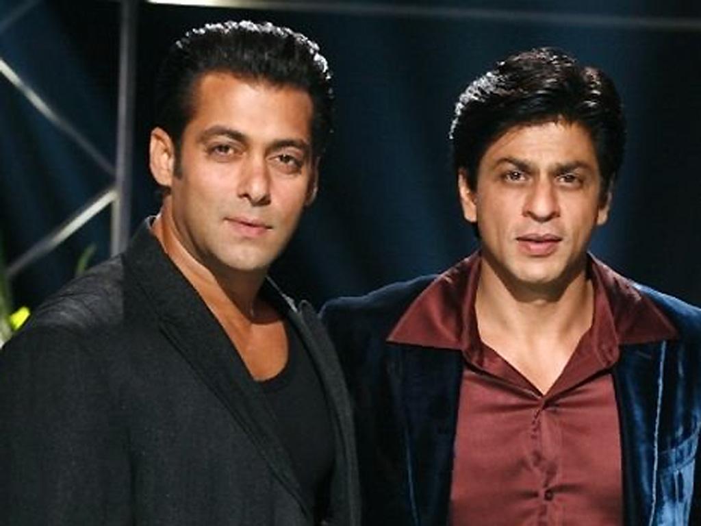 Exclusive Pics   Shahrukh Khan and Salman Khan Shoot For Bigg Boss 9