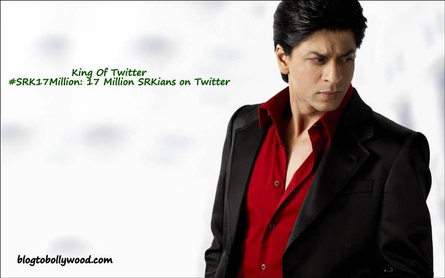 Shahrukh Khan Now Has 17 Million Followers On Twitter: Second To Amitabh Bachchan
