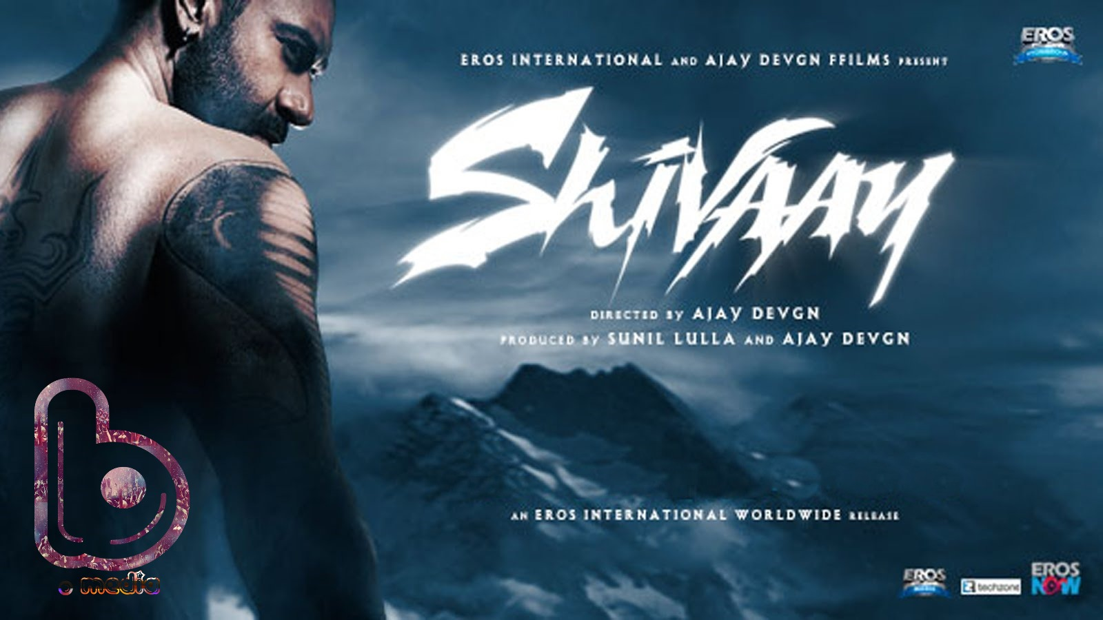 This thrilling still of Ajay Devgn from Shivaay will leave you breathless!