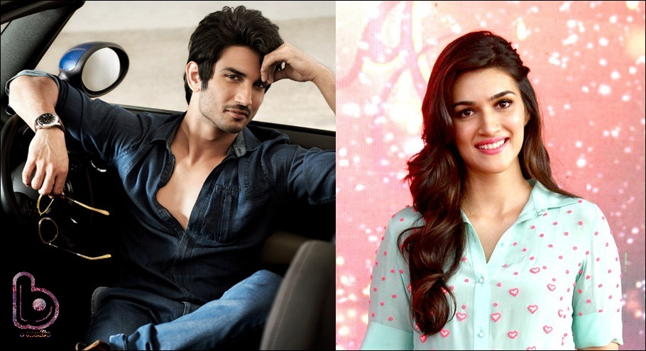 Sushant Singh Rajput and Kriti Sanon walk out of Half Girlfriend!Sushant Singh Rajput and Kriti Sanon walk out of Half Girlfriend!