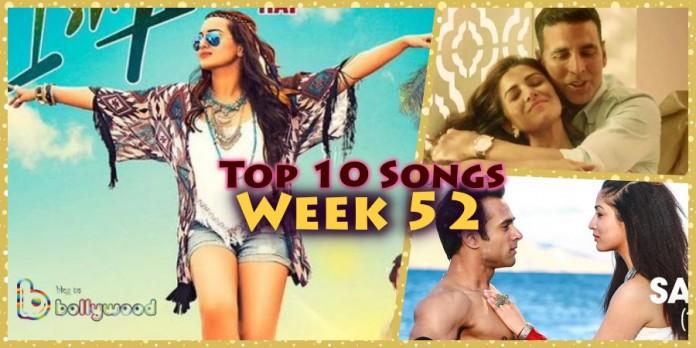 Top 10 Bollywood Songs of the Week - Week 52 | 29 December 2015