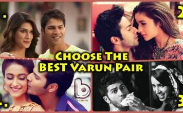 Choose the Hottest Pairup for Varun Dhawan - Alia, Ileana, Shraddha or Kriti?