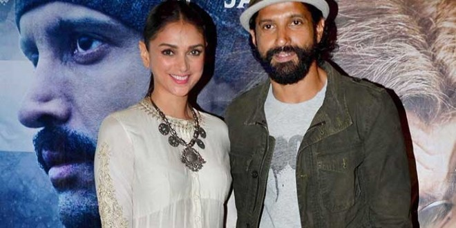 Love Making Scene of Farhan Akhtar and Aditi Rao Hydari axed from Wazir