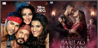 Dilwale and Bajirao Mastani First Thursday Collection : Day 7 of the Box Office Battle