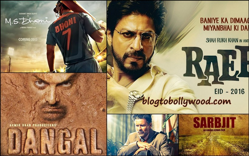 10 Bollywood Biopics To Be Released In 2016 | All You Want To Know About Them