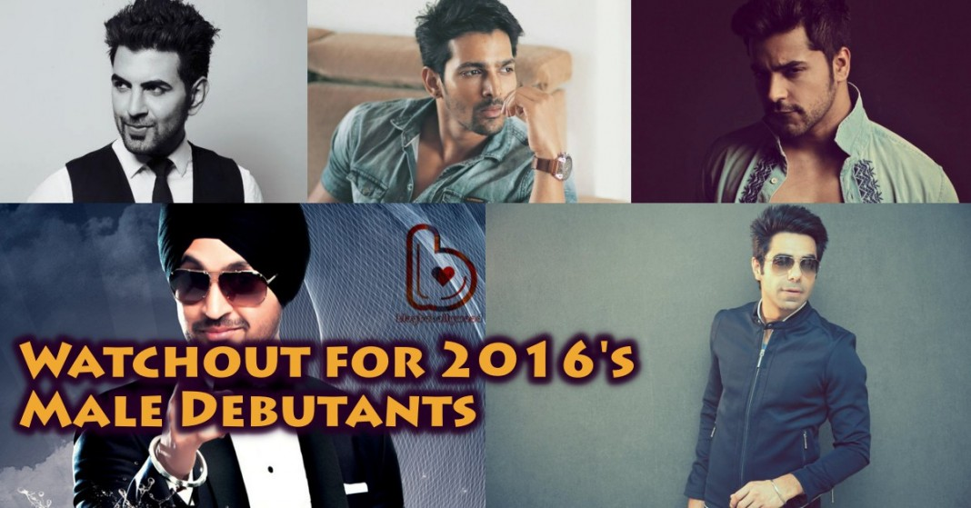 10 best anticipated Male Bollywood Debutants in 2016