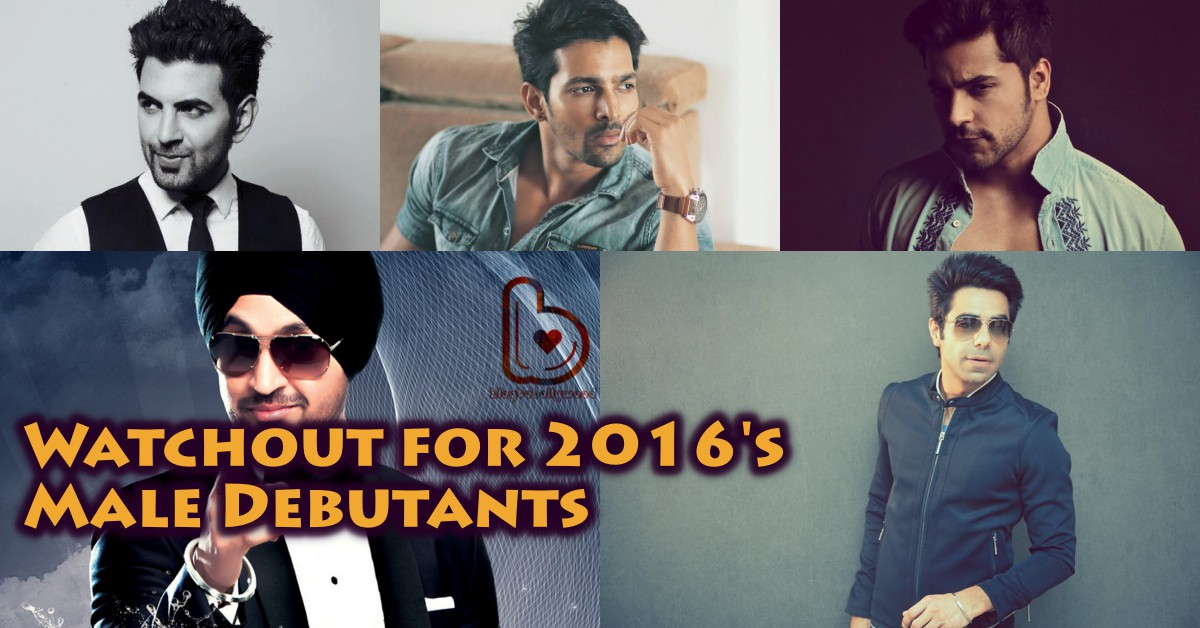 7 best anticipated Male Bollywood Debutants in 2016