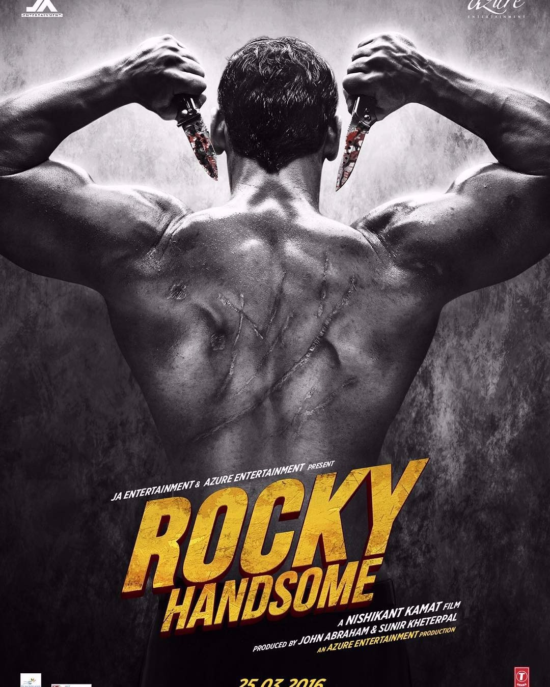 Rocky Handsome New Poster