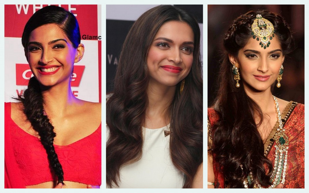Bollywood Inspired Hairstyle.