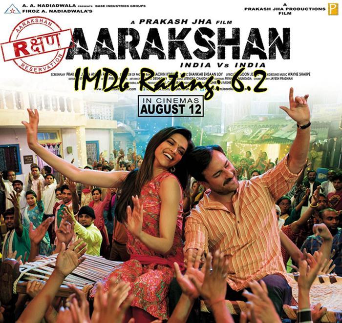 Top 10 Movies Of Deepika Padukone - Aarakshan