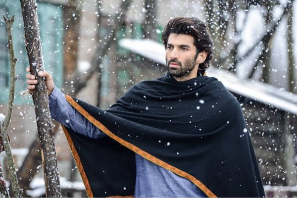 First Poster of Fitoor Featuring Katrina Kaif & Aditya Roy Kapur is Romantically Loving