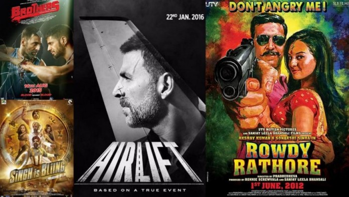 Airlift Vs Singh is Bliing Vs Brothers Vs Rowdy Rathore Box Office Collection