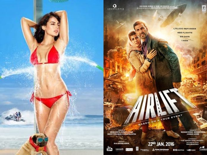 First Day Box Office Collection Update - Airlift and Kyaa Kool Hai Hum 3 Going Neck To Neck