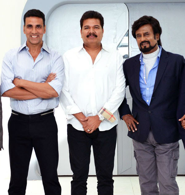 Robot 2 Update: Akshay Kumar is ecstatic to work with Rajnikanth