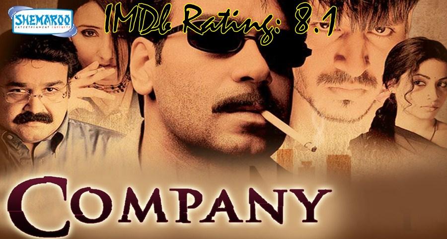 10 Best Movies Of Ajay Devgn - Company