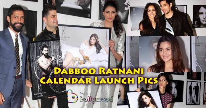 Dabboo Ratnani Calendar Launch 2016