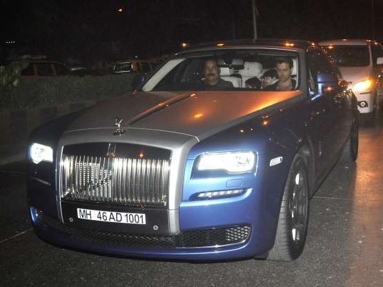 Hrithik Roshan buys himself a more movies resolution as well as a Rolls Royce
