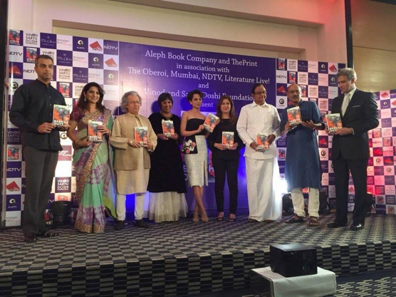 Kangana Ranaut made some Candid Confessions at Barkha Dutt's Book Launch