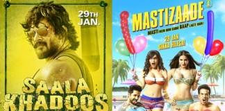 Mastizaade and Saala Khadoos Box Office Prediction